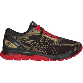 asics Gel-Nimbus 21 Shoes Men, black/classic red